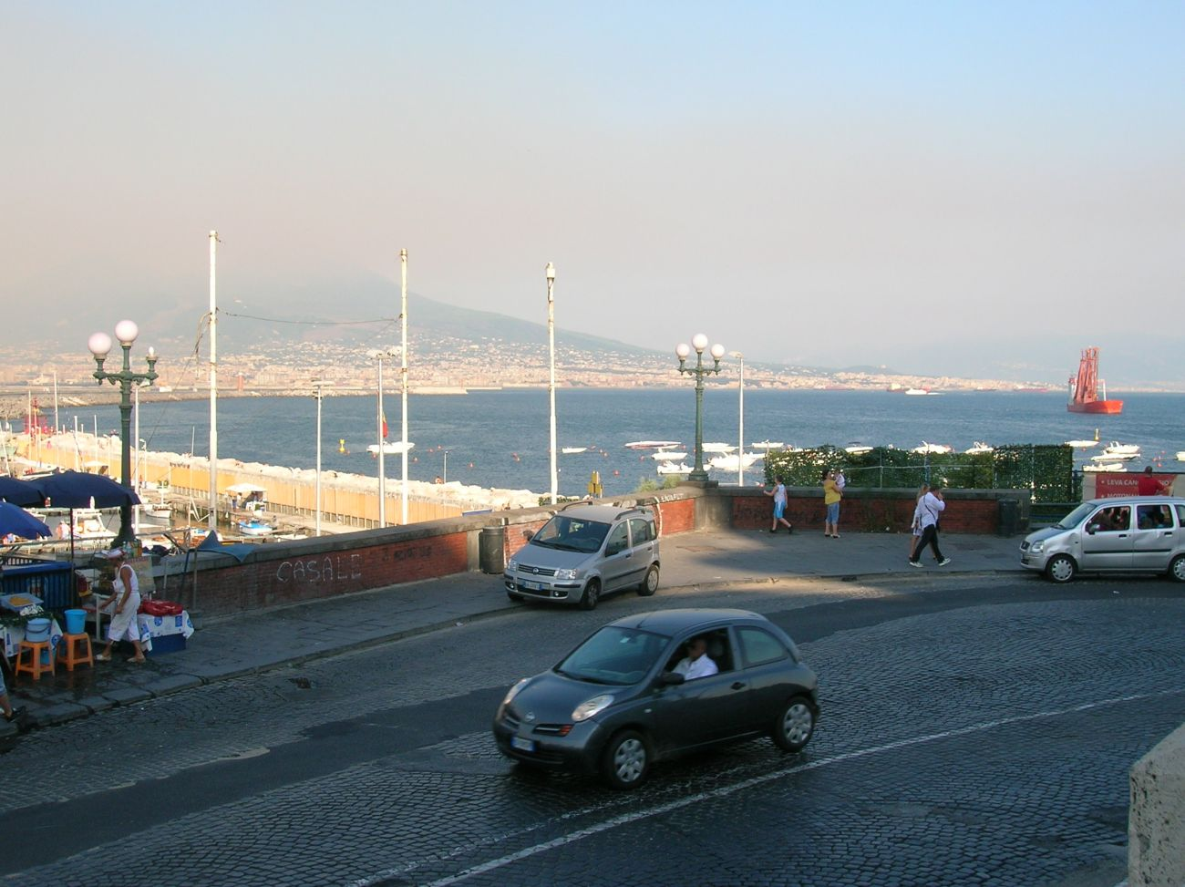 PANORAMA FROM VIA CARACCIOLO