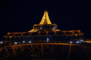 Eiffel Tower Twinkling
