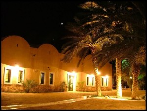 Ksar Ghilane by night