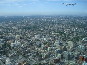 Toronto s visine 500m