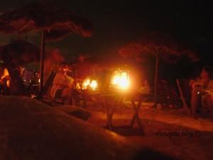 Playa del Carmen bar na plazi