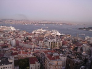 Bospor-pogled sa Galata kule