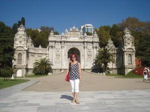 Dolmabahče palača - Carska kapija