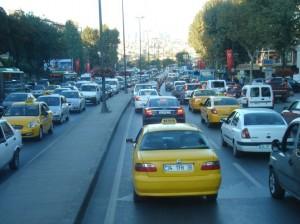 gust promet i obavezni žuti taksi