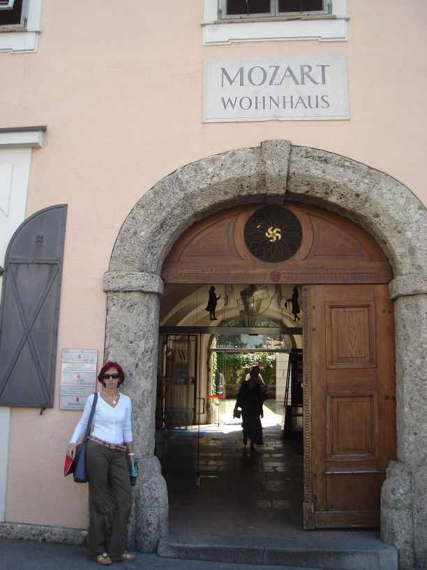 kuca u kojoj je zivio Mozart