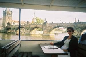 pogled s Vltave na Karlov most