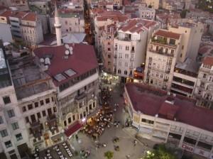 pogled s Galata kule