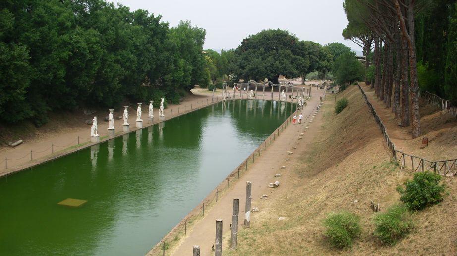 Hadrijanova vila - Canopos (bazen)