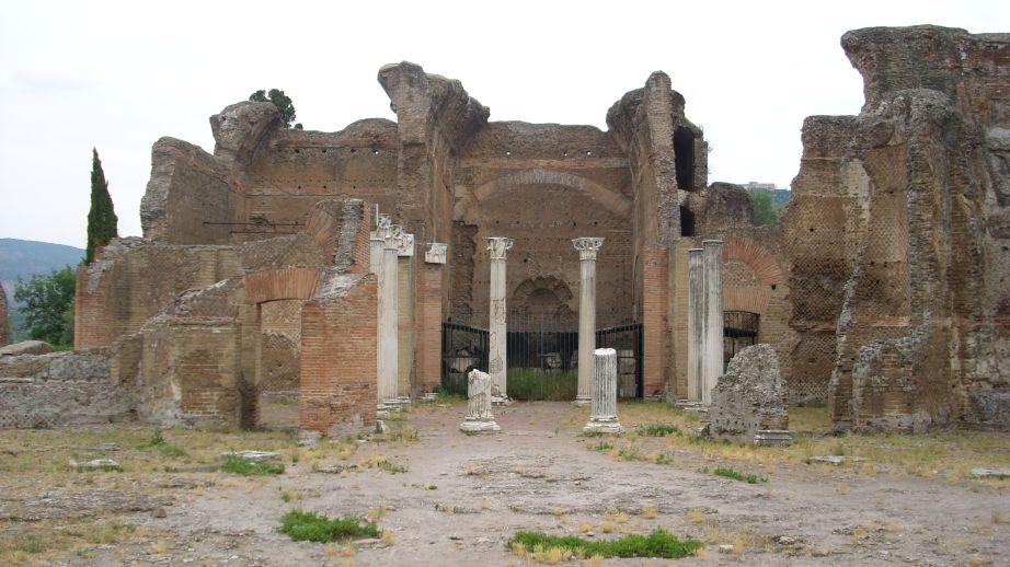 Hadrijanova vila - kolonade