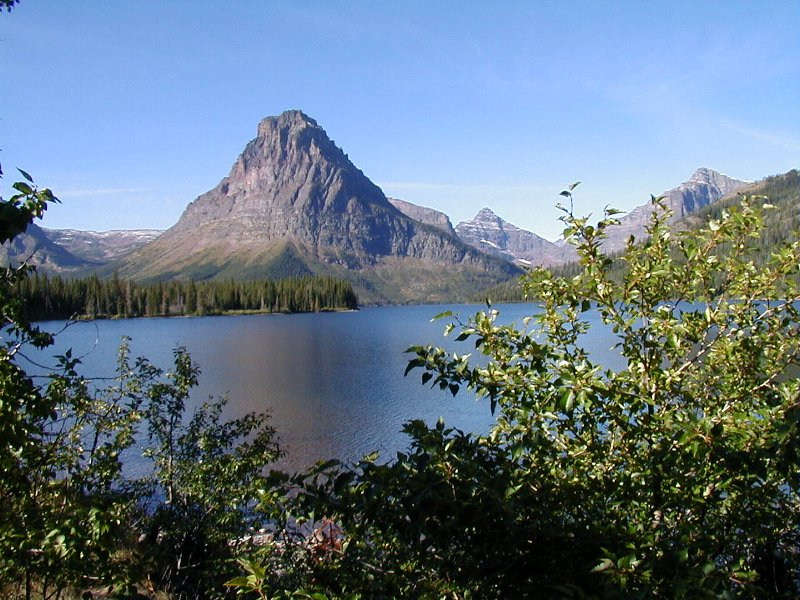 Sinopah Mountain - Two Medicine Lake