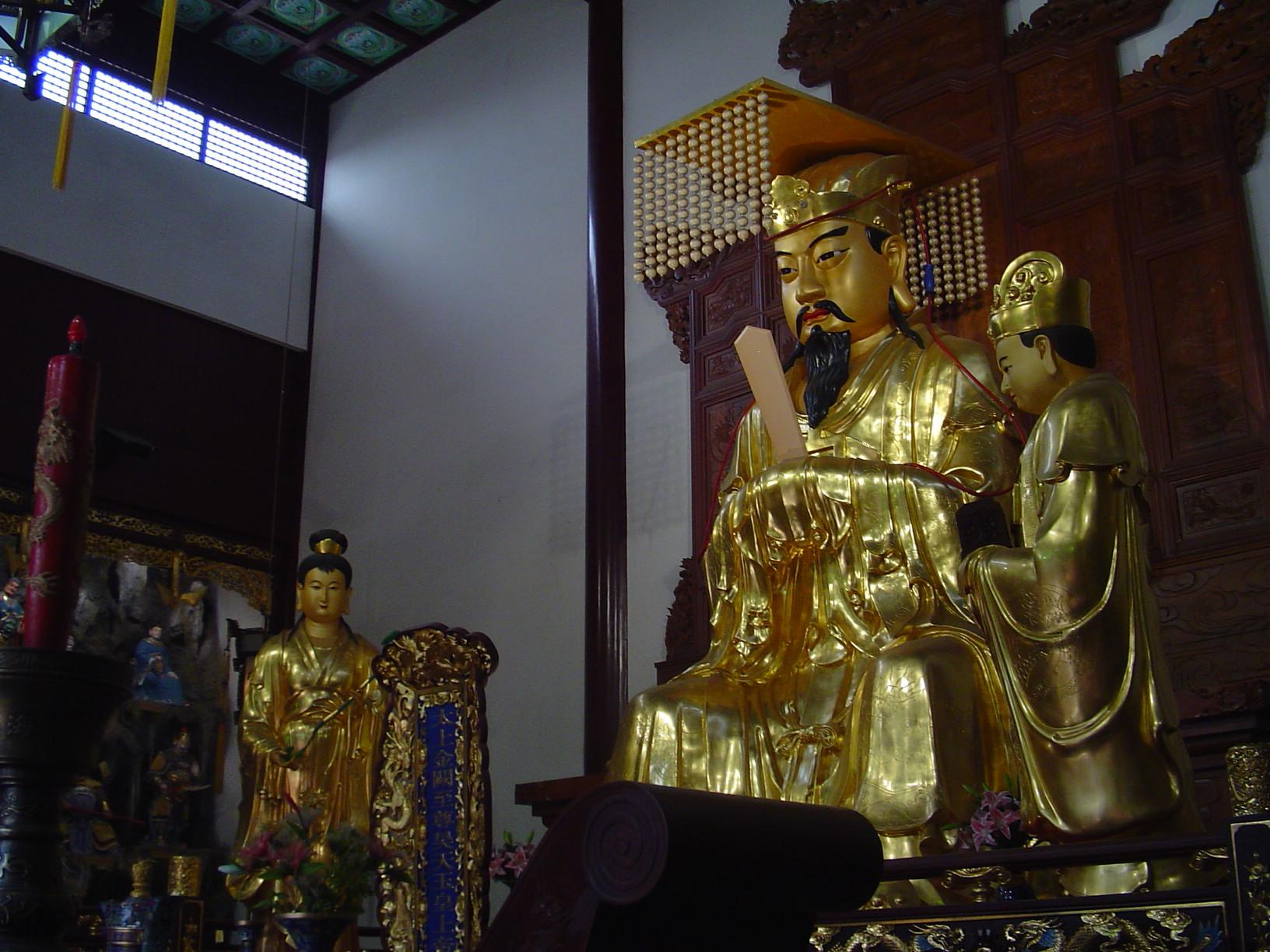 Unutrašnjost taoističkog hrama
