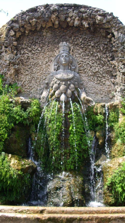 Villa d'Este - Dijanina fontana
