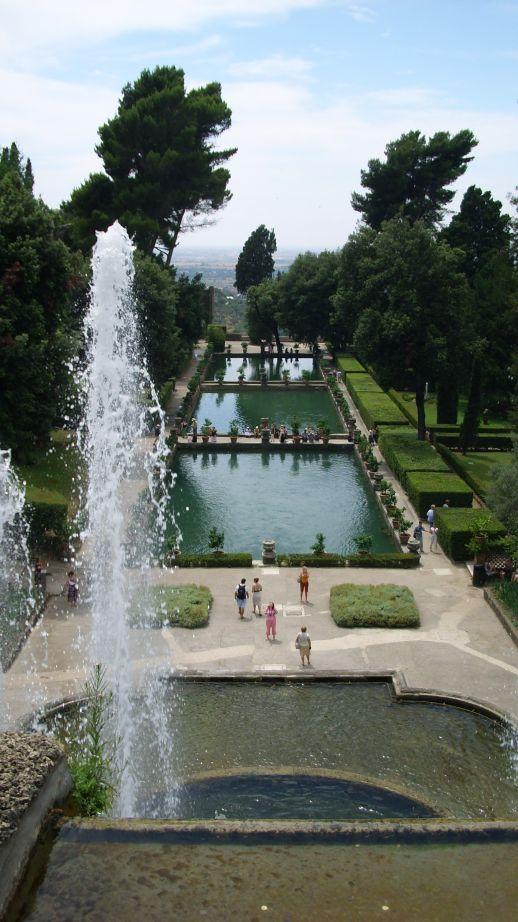 Villa d'Este-ribnjaci i Zmajeva fontana