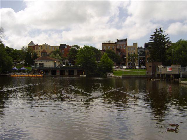 Avon rijeka, pogled na grad