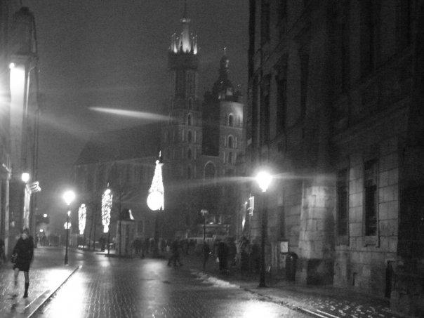 crno bijeli Krakow