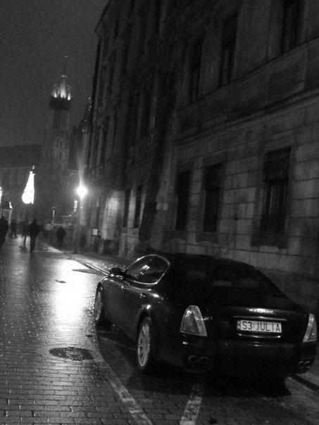 noć na krakowskoj ullici