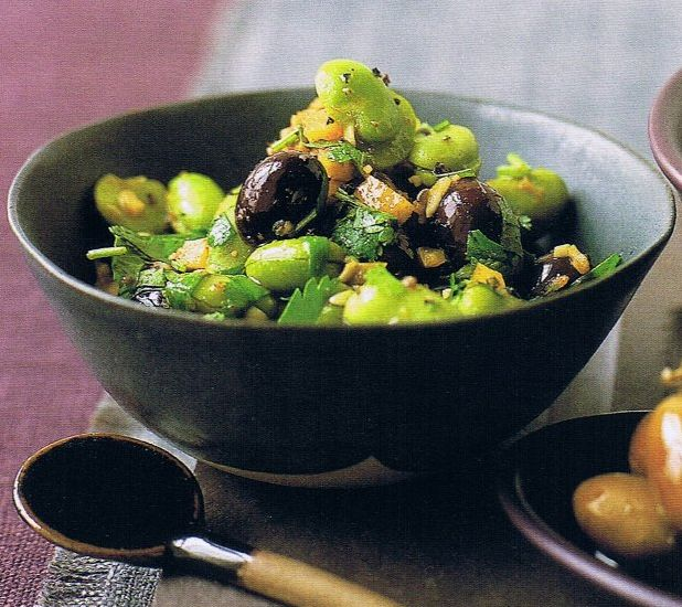 Salata od boba i maslina