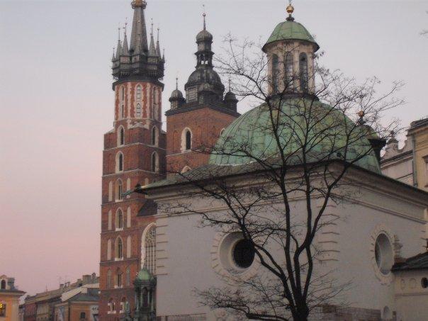 sv.Adalbert i Kosciol Mariack