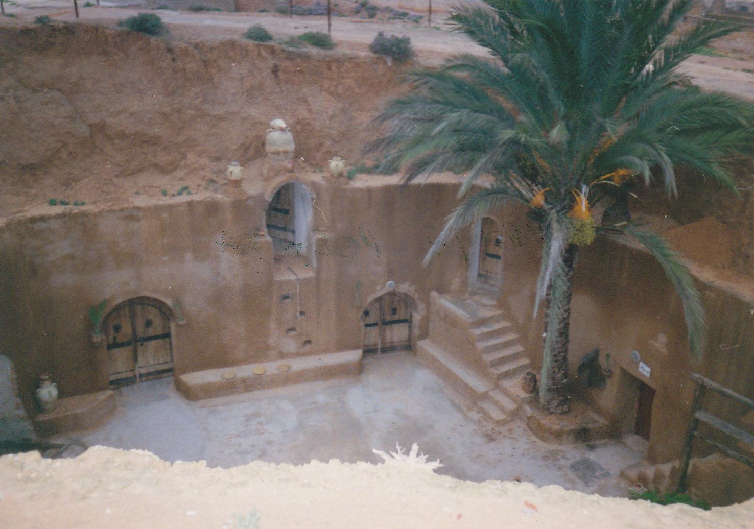 Trogloditska kuća