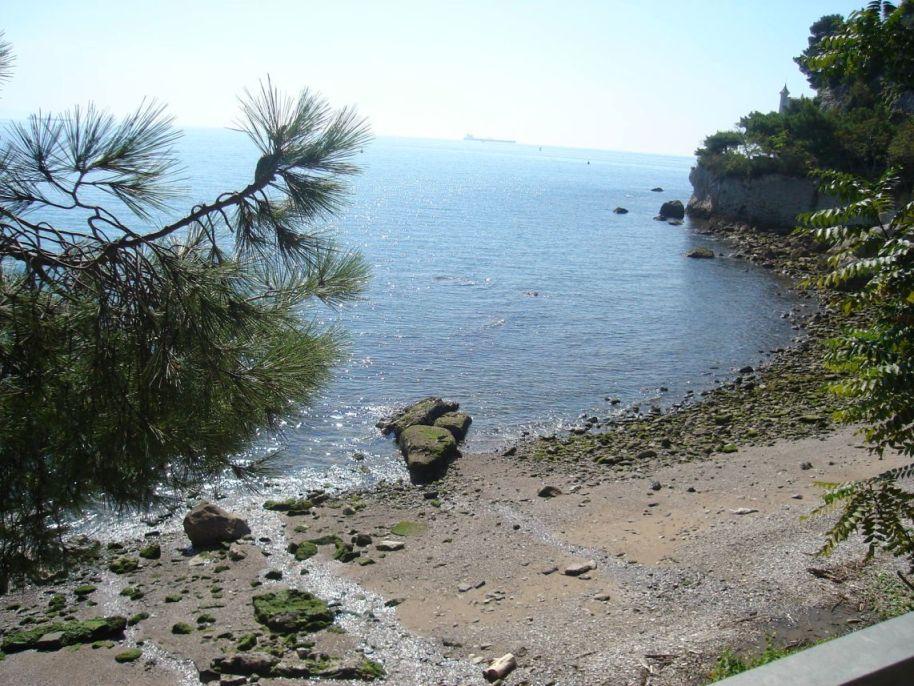 Plaža pored dvorca