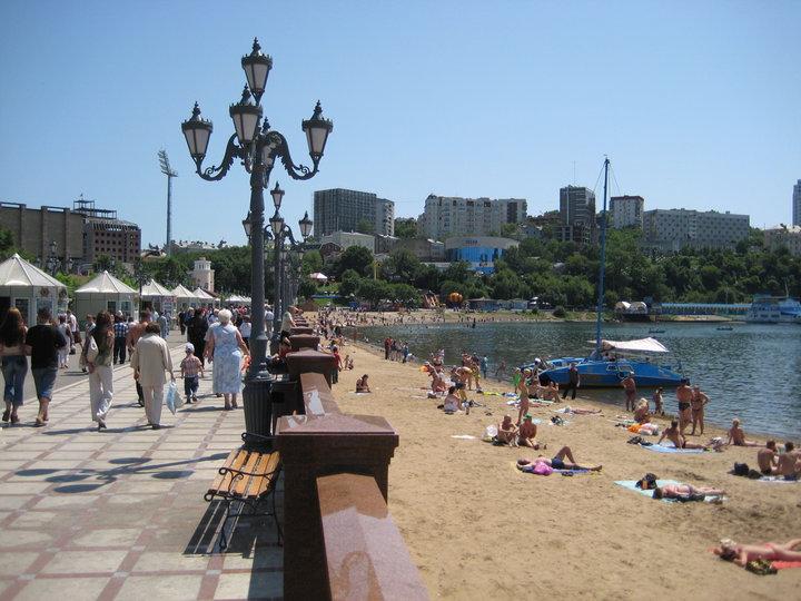 Plaža u Vladivostoku
