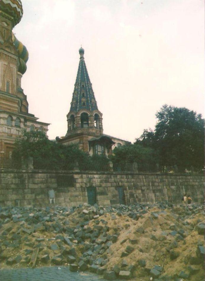 Ruševine oko crkve V.Blaženog