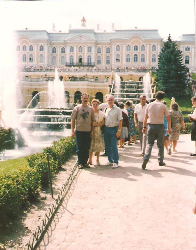 Vodoskoci pred dvorcem