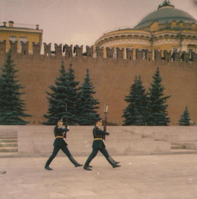 Vojnici ispred Kremlja