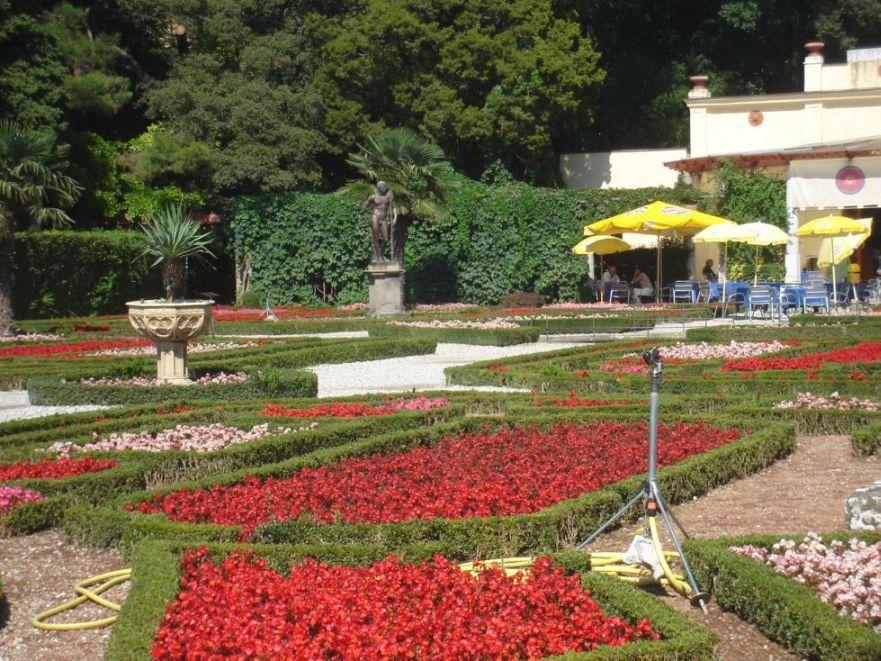 Vrtovi oko dvorca Miramare