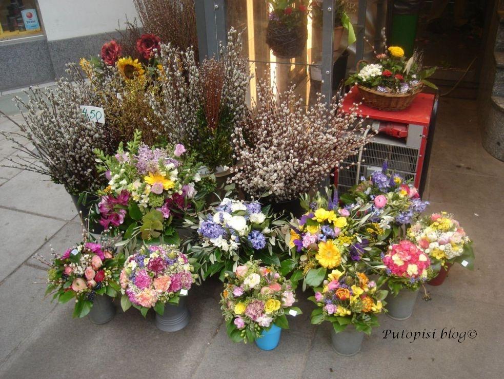 Cvijeće u Karntner strasse