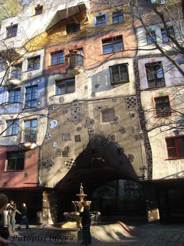 BEČ - Hundertwasser haus