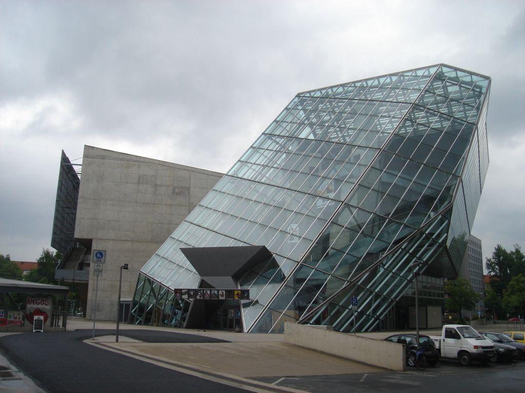 DRESDEN -Kristall 'UFA' Palast, U Prager strasse