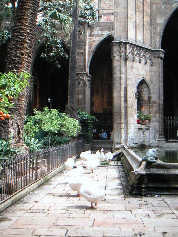 Gotička četvrt - klaustar st.Eularije