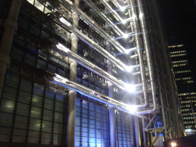 LONDON - Lloyd's Building, cijevi