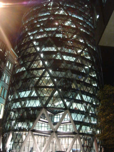 LONDON nocu - Gherkin (dio)