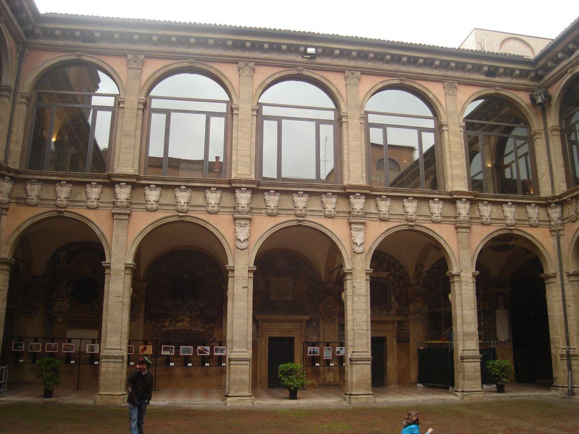Dvorište zgrade Univerziteta