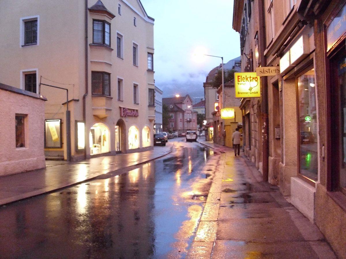 Mirna ulica u predvecerje