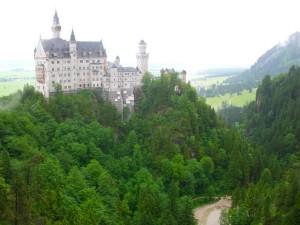 Neuschwanstein na labuđoj stijeni