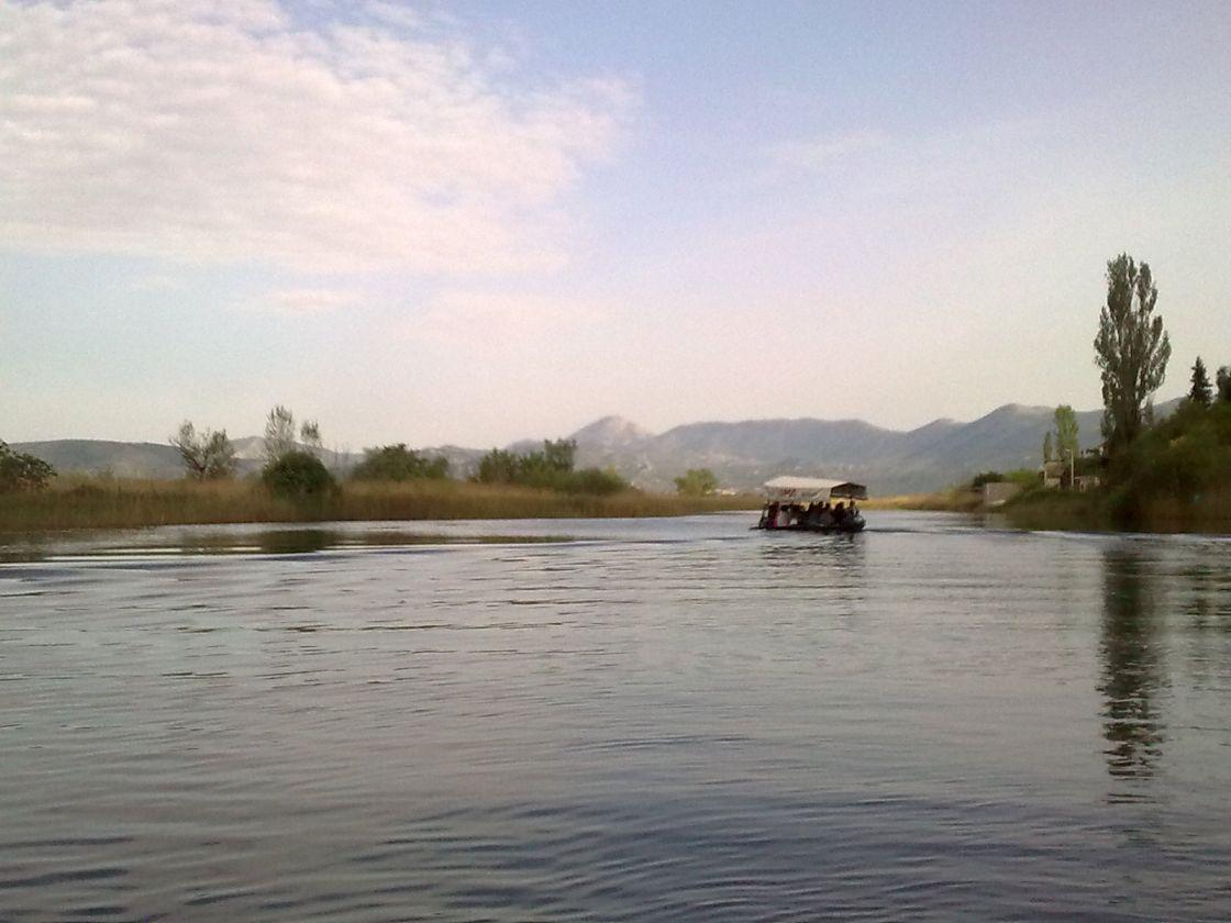 Rijeka vrluda kao jegulja