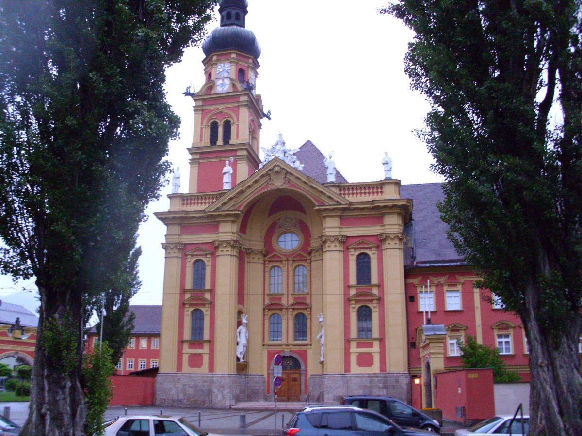 Zapadni ulaz u samostan Wilten