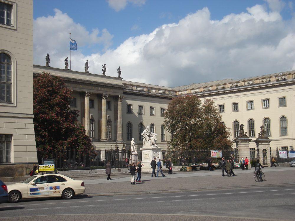 Humboldt Univerzitet u glavnoj ulici Unter den Linden
