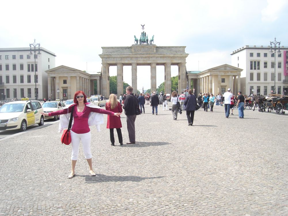 Na Pariser platzu, Brandenburška vrata