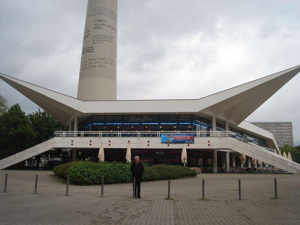 Podnožje TV tornja na Alexanderplatzu