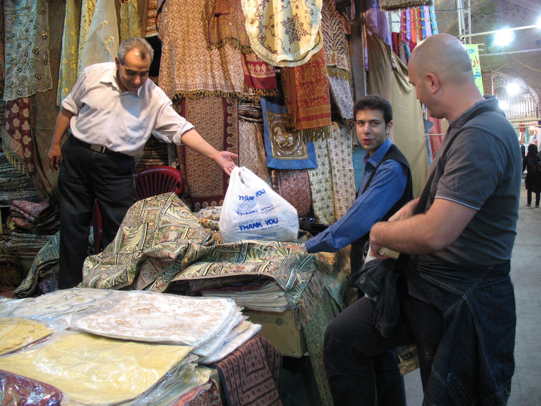 Bazar u Shirazu