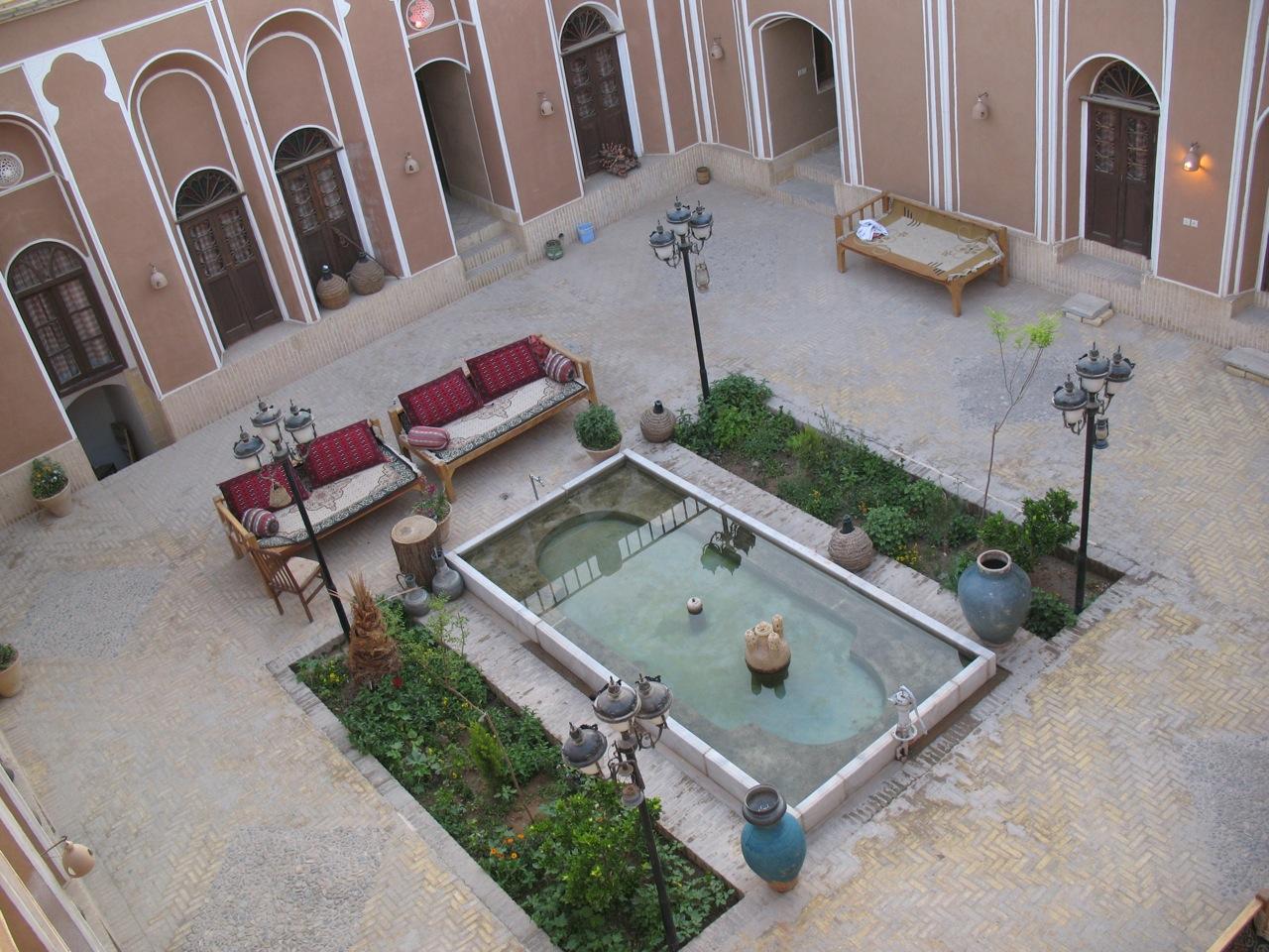 Dvorište hostela