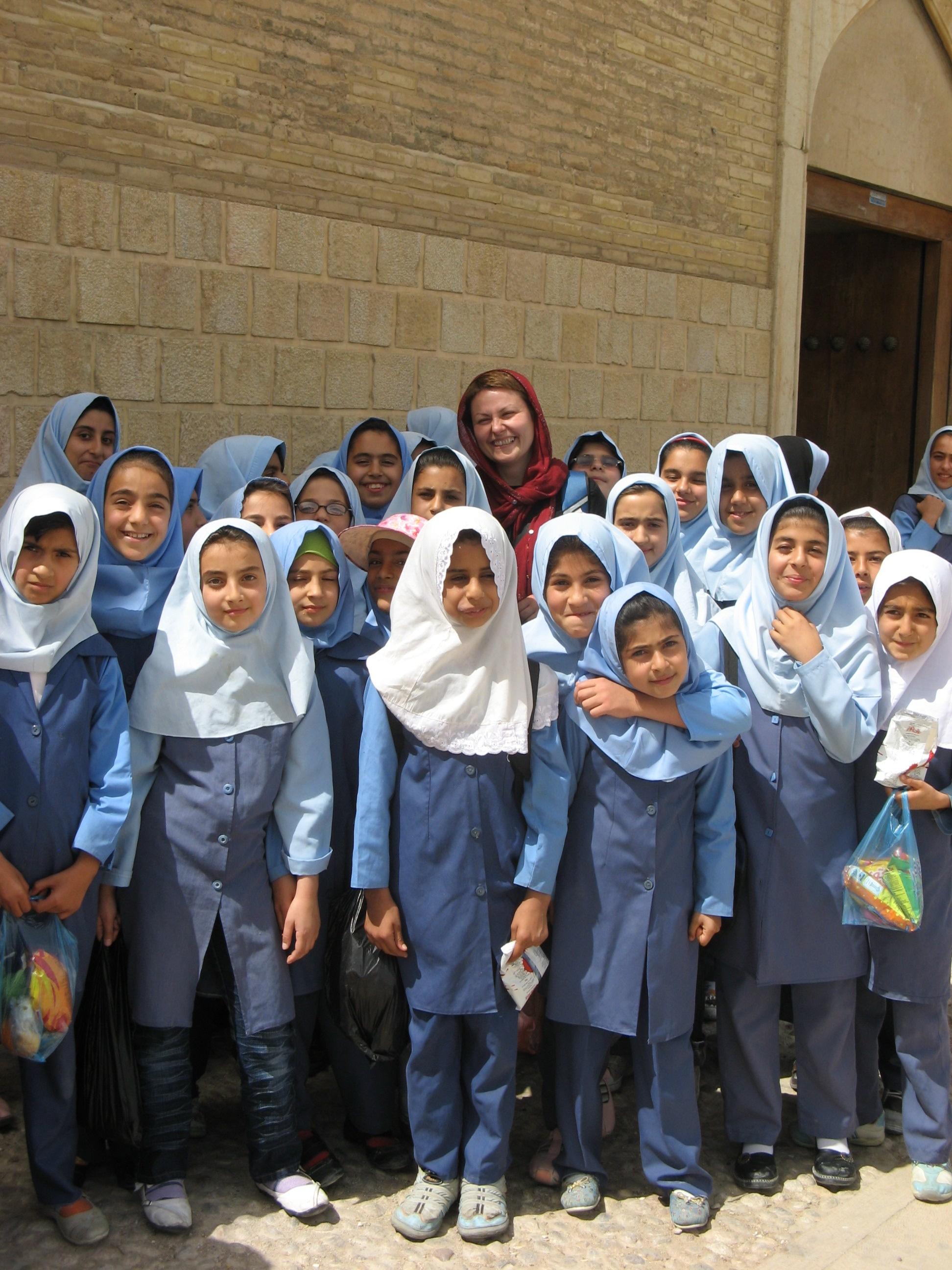 Iranske školarke