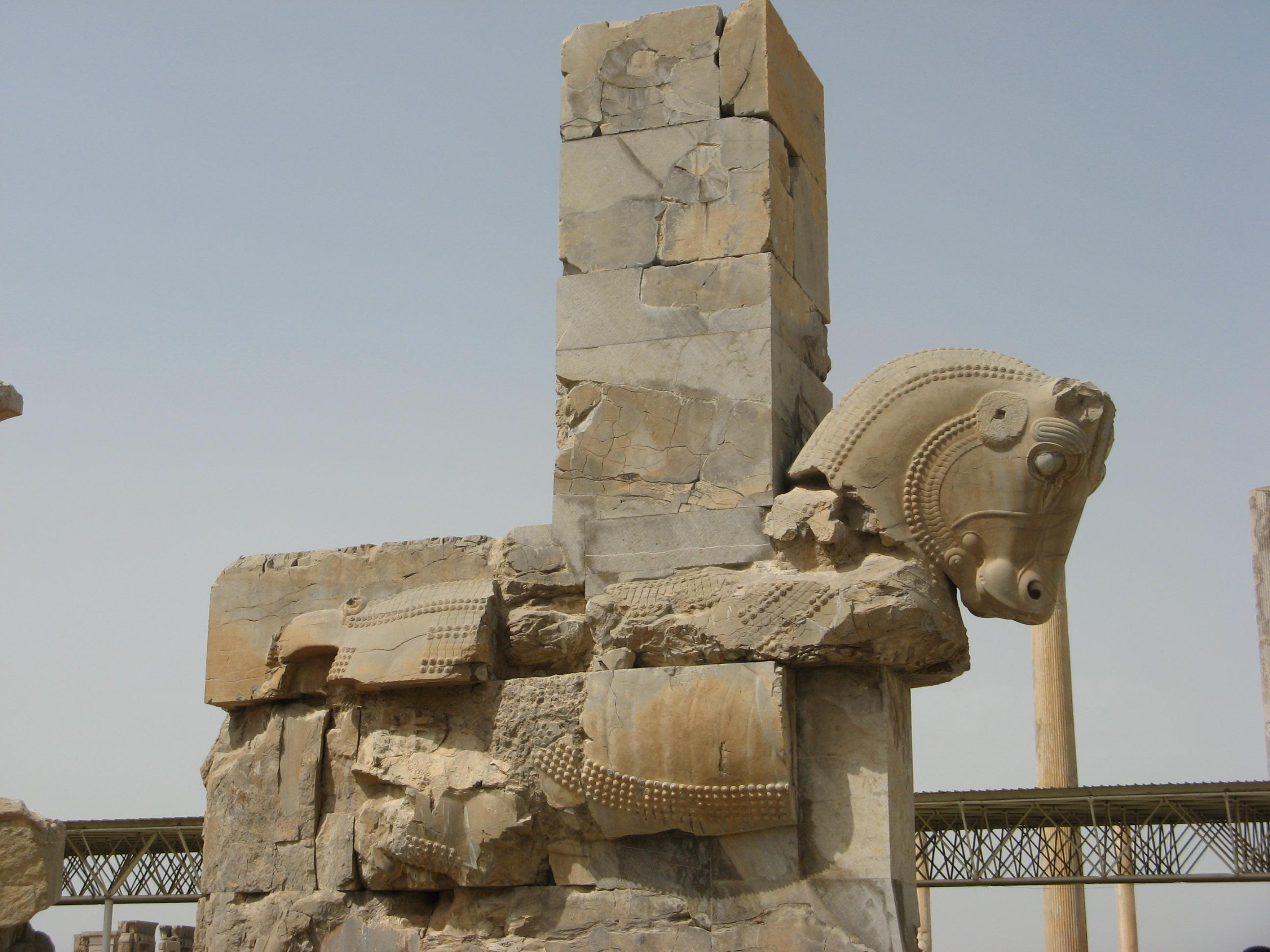Konj u Persepolisu