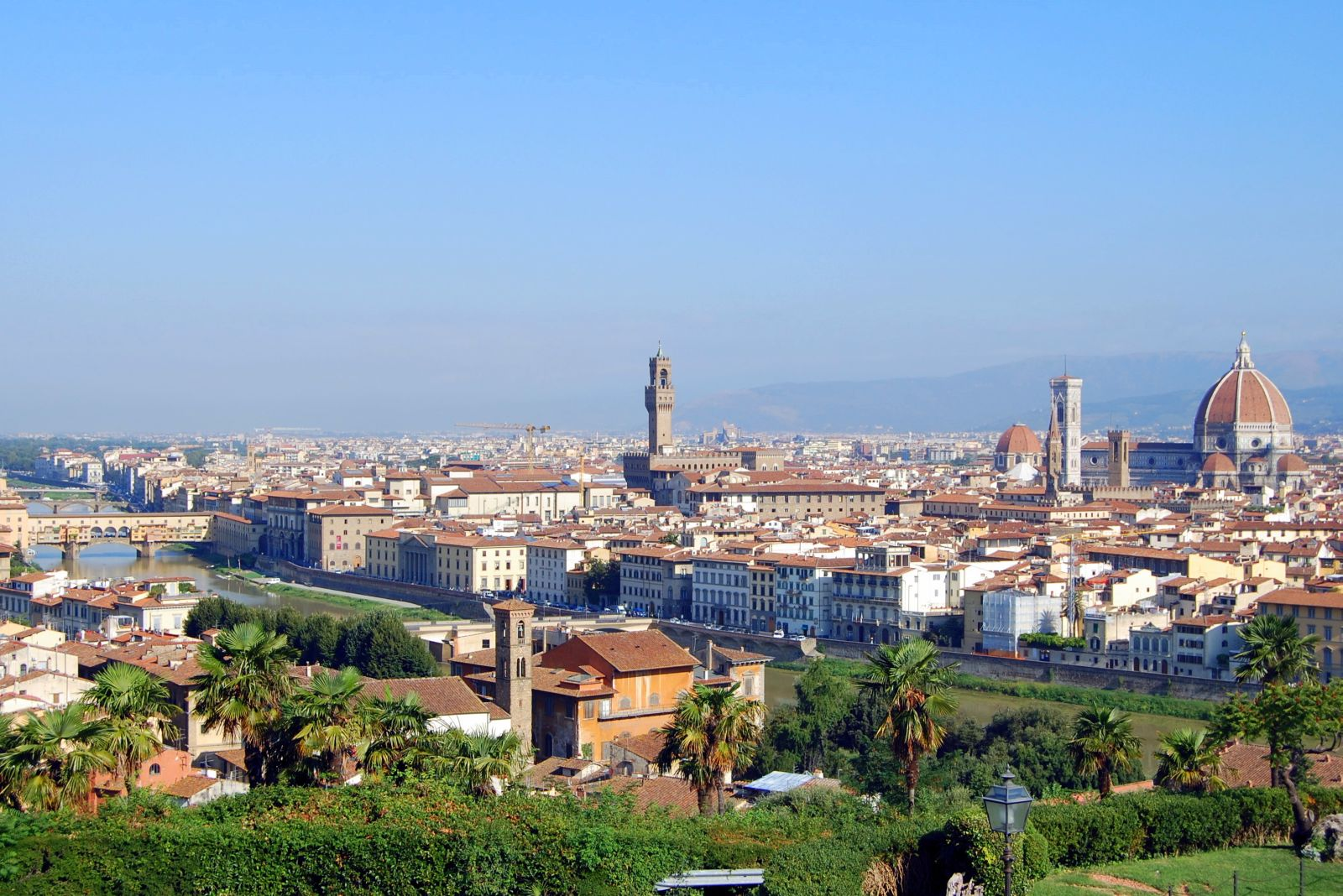 Panorama Firence sa Piazzale Michelangelo