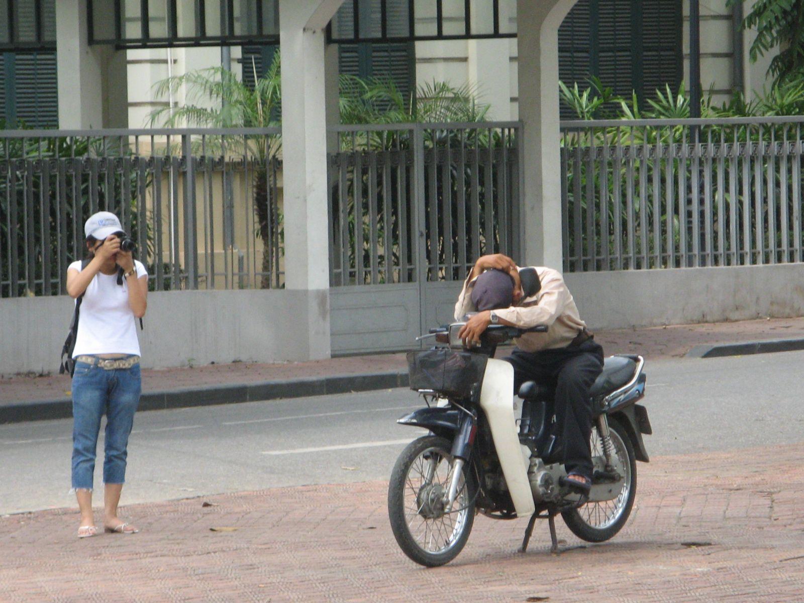 odmor na ulici