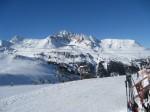 planina pod snijegom